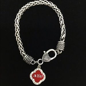 Delta Sigma Theta Sorority Bracelet